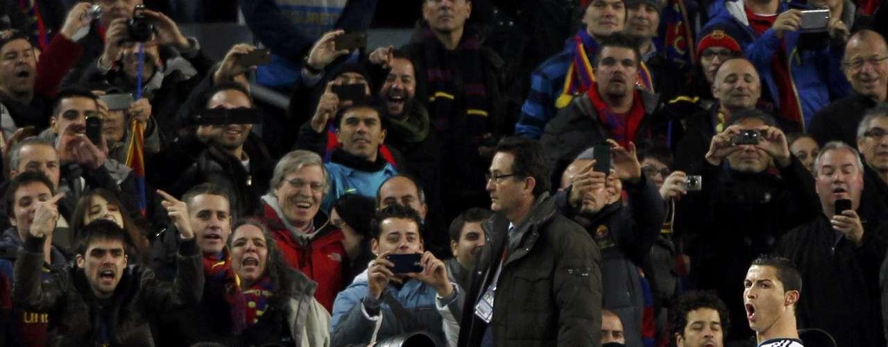 Para a irritação da torcida do Barcelona, Cristiano Ronaldo foi o nome do jogo no Camp Nou