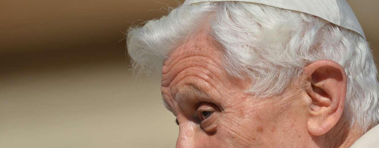 A última audiência pública de Bento XVI será realizada nesta quarta-feira (27)