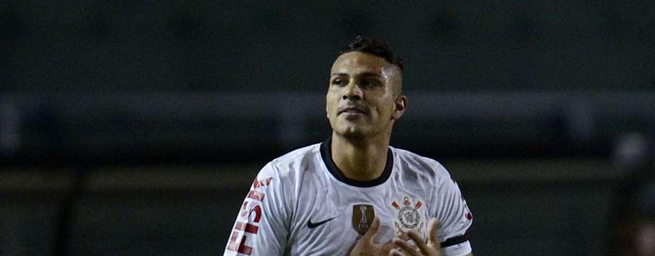 Guerrero abriu placar para o Corinthians contra o Millonarios