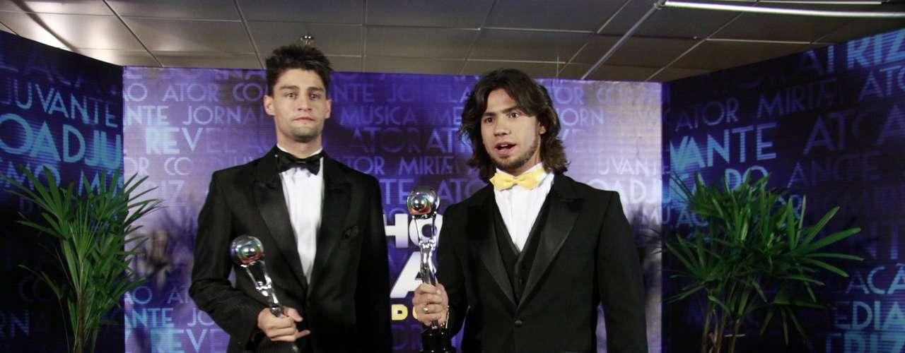 Munhoz e Mariano ganharam o prêmio de música do ano, por 'Camaro Amarelo'