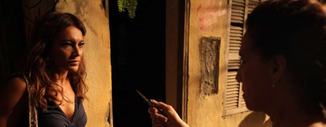 Lucimar (Dira Paes) vai acertar as contas com Wanda (Totia Meirelles). As duas brigam e a vilã leva uma surra.  \