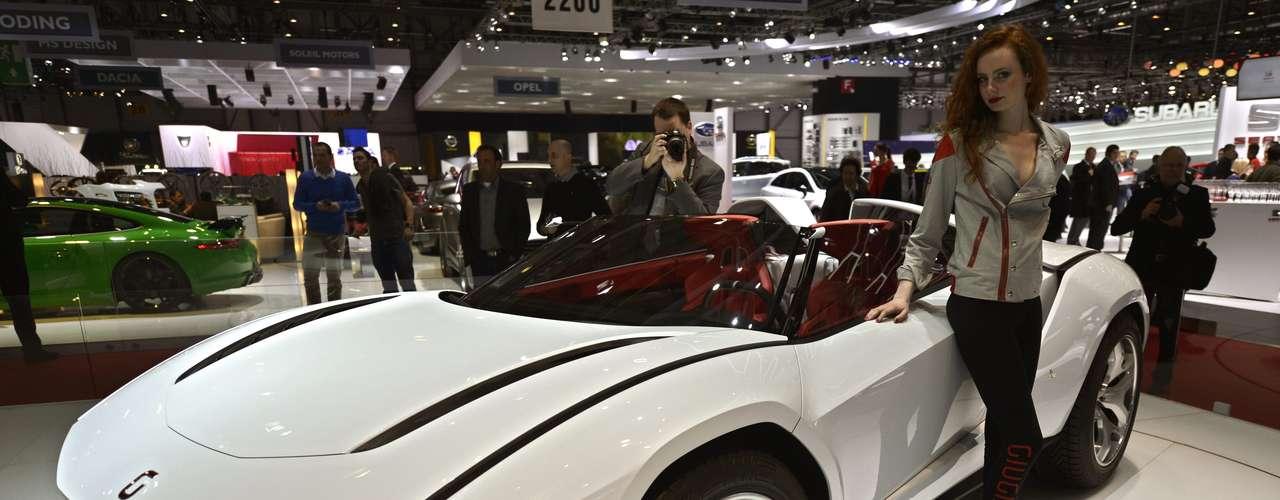 Projeto da montadora especializada em carrocerias Italdesign Giugiaro
