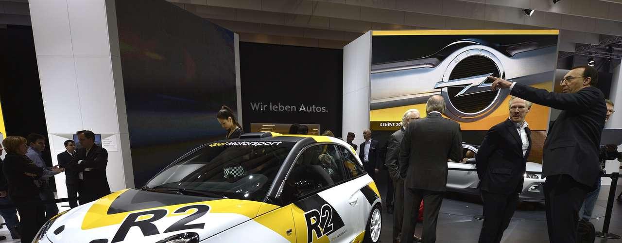 Opel Adam Rallye Cup
