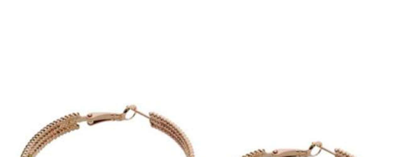 Brincos argola Morana, R$ 39, Tel. 11 4208-6200