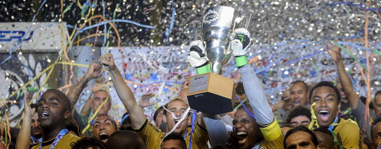 Classificado para a final do Carioca, o Botafogo pode conqusitar o Estadual de maneira antecipada caso seja campeão da Taça Rio