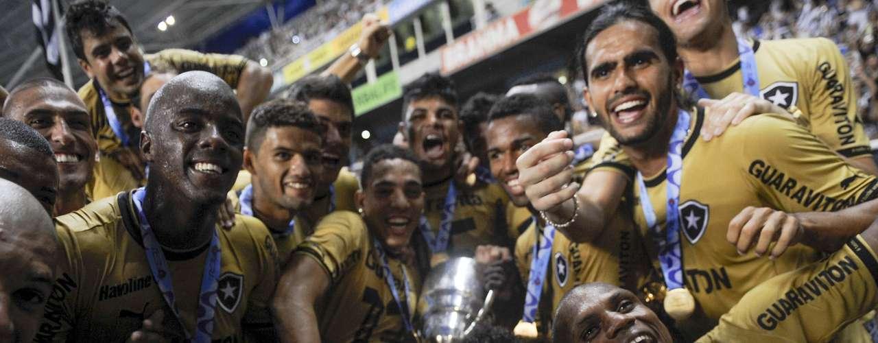 O título deste domingo garantiu o Botafogo na decisão do Campeonato Carioca, em maio