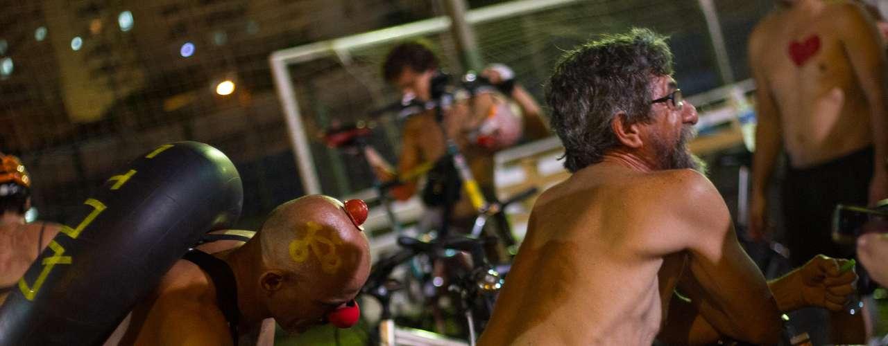 O movimento também aconteceu em Florianópolis, capital de Santa Catarina