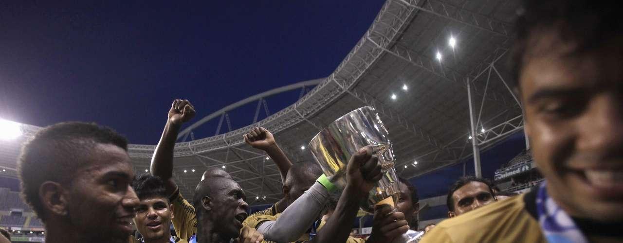 Botafogo havia enfrentado o Flamengo na semi e o Vasco na final sem a vantagem do empate