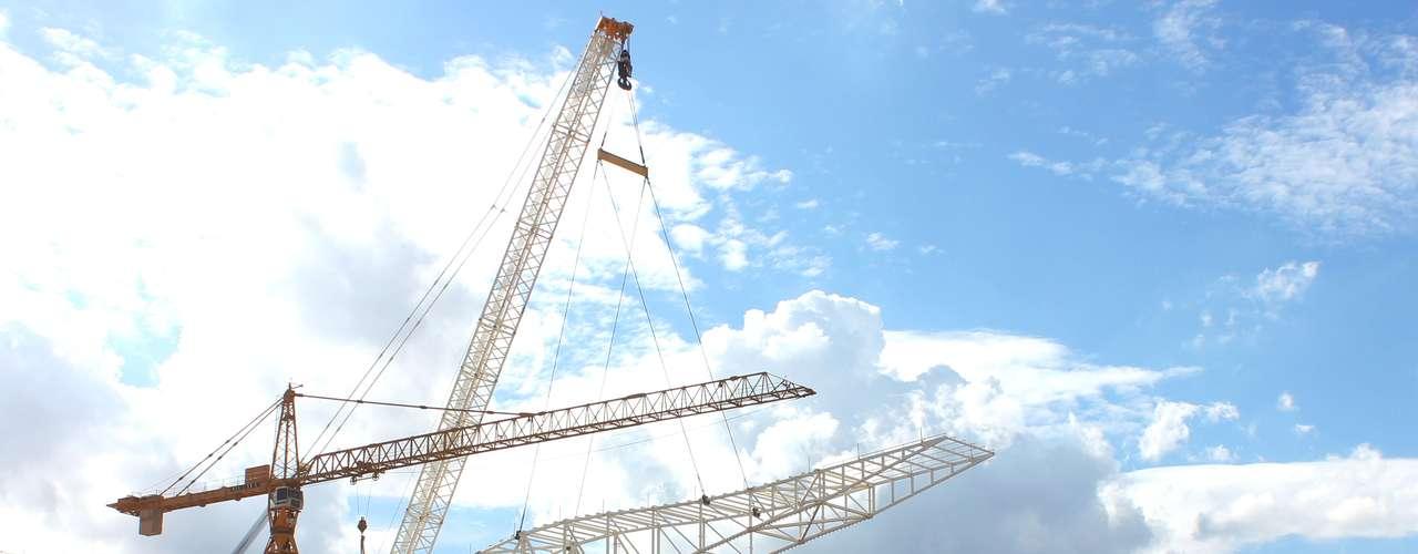 13 de março de 2013:Obras da Odebrecht Infraestrutura seguem de acordo com o programado, com quase 67% de conclusão e 1750 trabalhadores