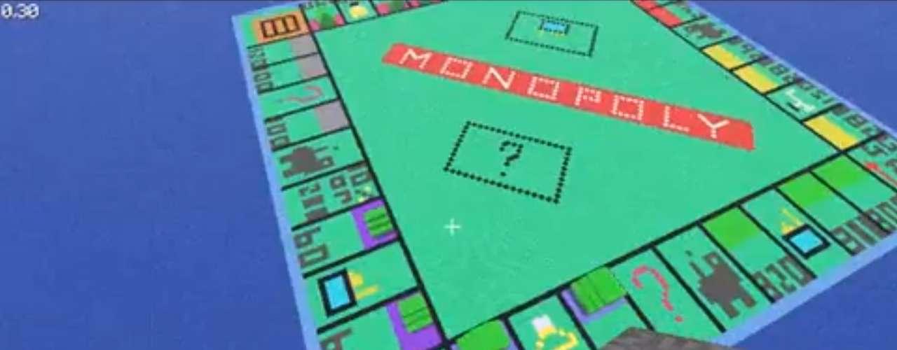 Um tabuleiro de 'Monopoly' também foi criado por jogadores