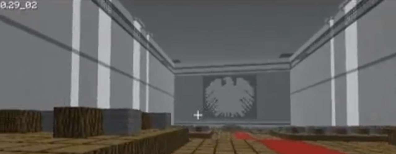 Área interna doPalácio do Reichstag, em Berlim, foi reproduzido fielmente