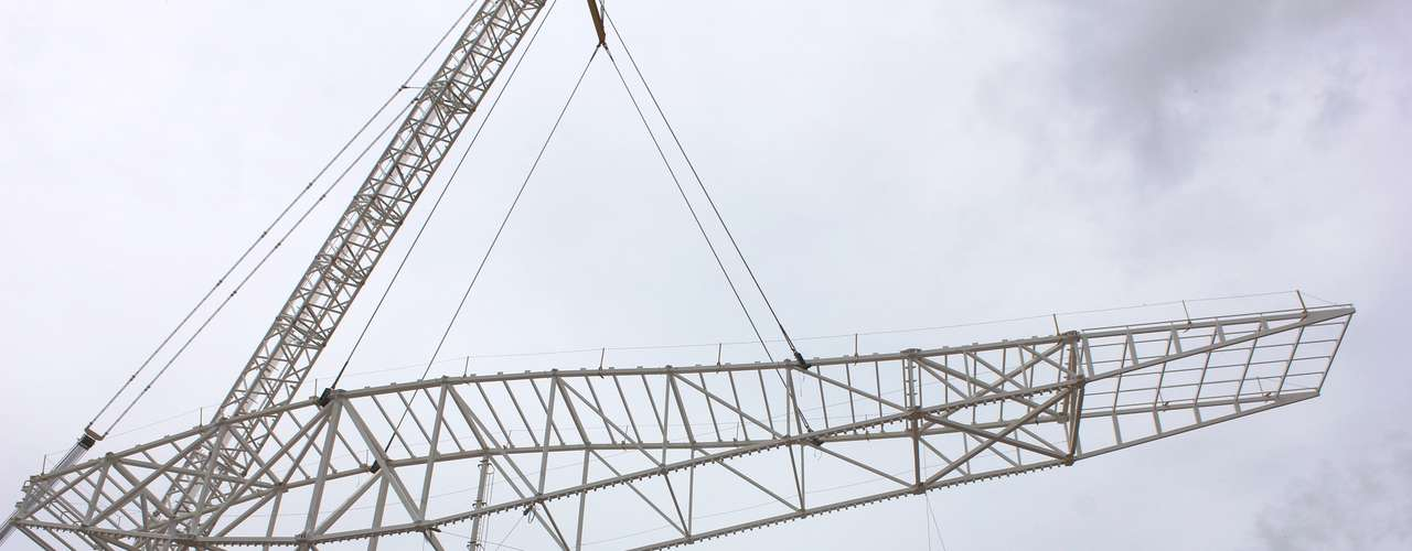 20 de março de 2013: No total, segundo a construtora, serão dez módulos que serão instalados até o final de abril