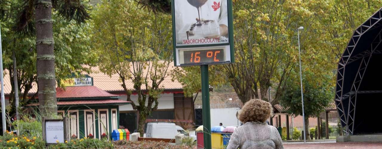 20 de março Cidade paulista registrou 16°C nesta quarta-feira