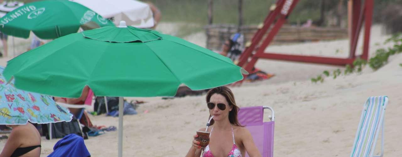 24 de março O primeiro domingo do outono foi marcado pelo tempo nublado e temperturas de 27 graus em Florianópolis. Mesmo assim, muitos banhistas aproveitaram o dia nas praias de Santa Catarina