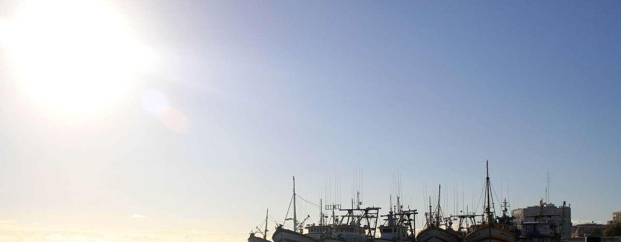 27 de março O dia amanhece ensolarado próximo ao Rincão da Cebola, em Rio Grande, no sul do Rio Grande do Sul