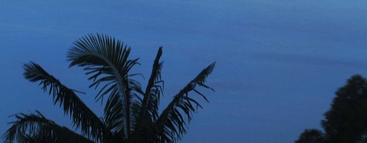 27 de março Céu amanhece azul no bairro Demarchi, em São Bernardo do Campo (SP)