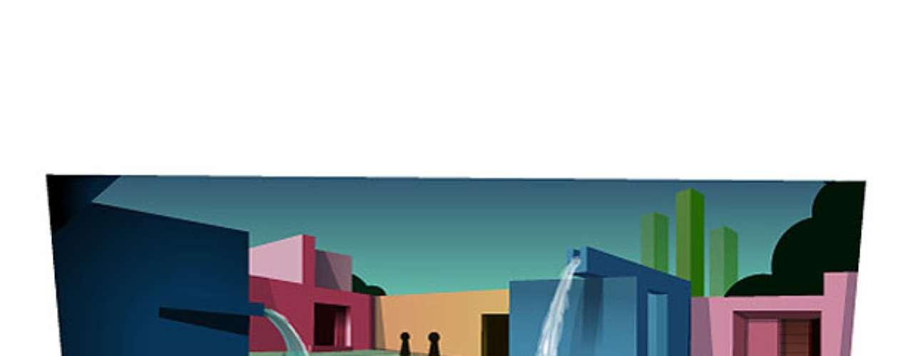 9 de março - 111º aniversário de Luis Barragan, arquiteto mexicano (México)