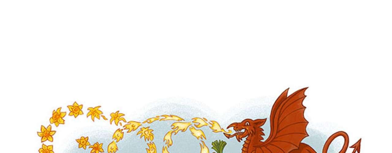 1º de março - Dia de São Davi, padroeiro do País de Gales (Reino Unido)