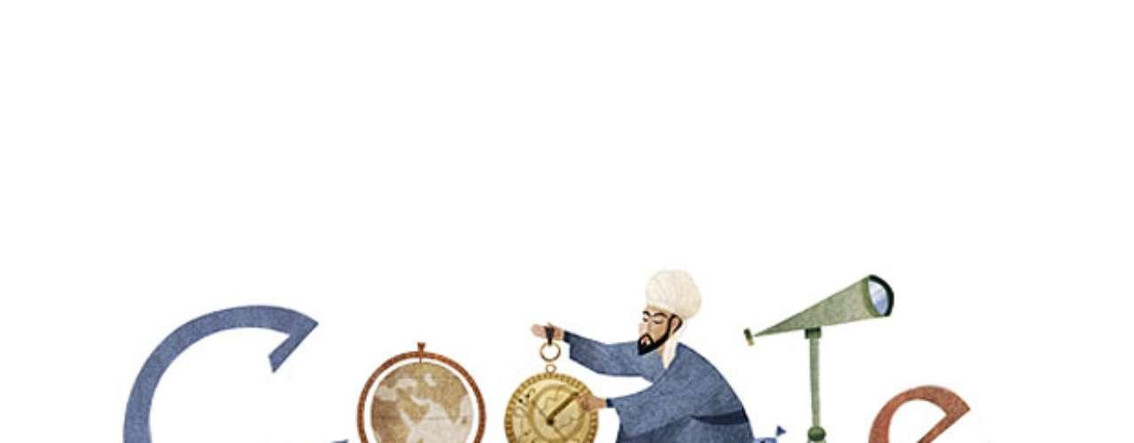 18 de fevereiro - 812º de Nasir al-Din al-Tusi, escritor e cientista persa (diversas países)