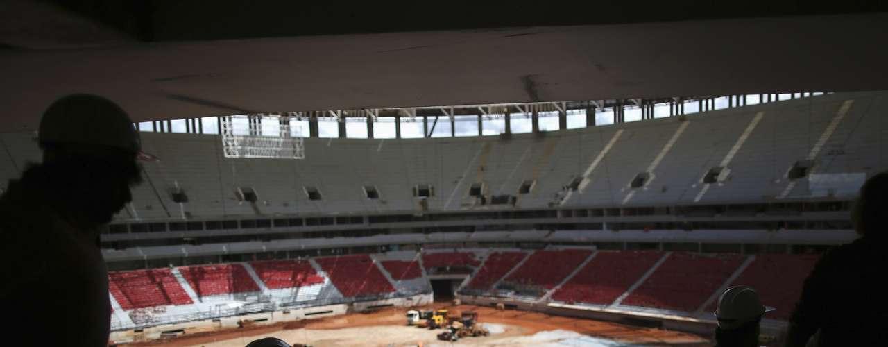 8 de abril de 2013: em 2014, estádio do DF receberá sete partidas da Copa do Mundo