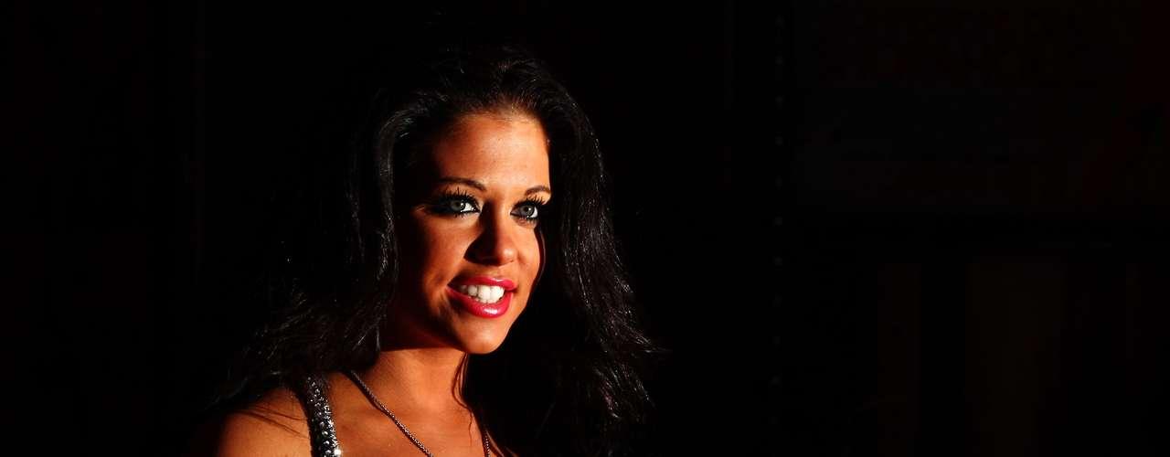 Bianca Gascoigne - filha do ex-jogador inglês Paul Gascoigne