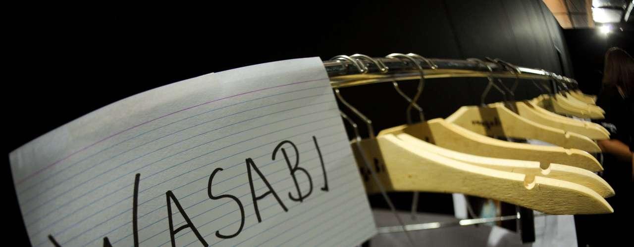 Wasabi foi uma das grifes a desfilar no prêmio