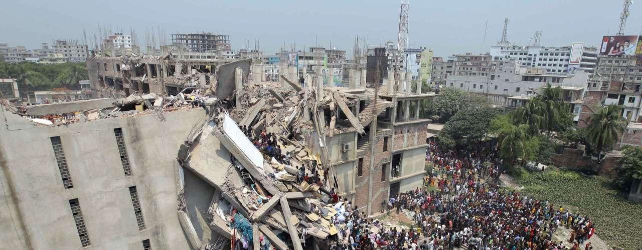 24de abril -Acidente aconteceu perto da capital de Bangladesh