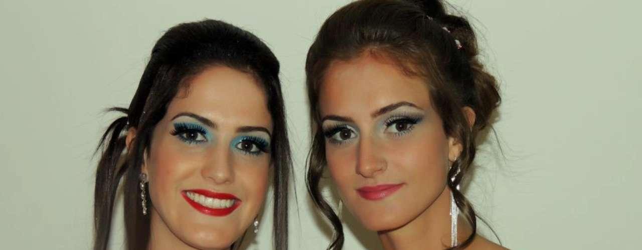 Maiara e Natasha Stival - filhas do técnico Cuca