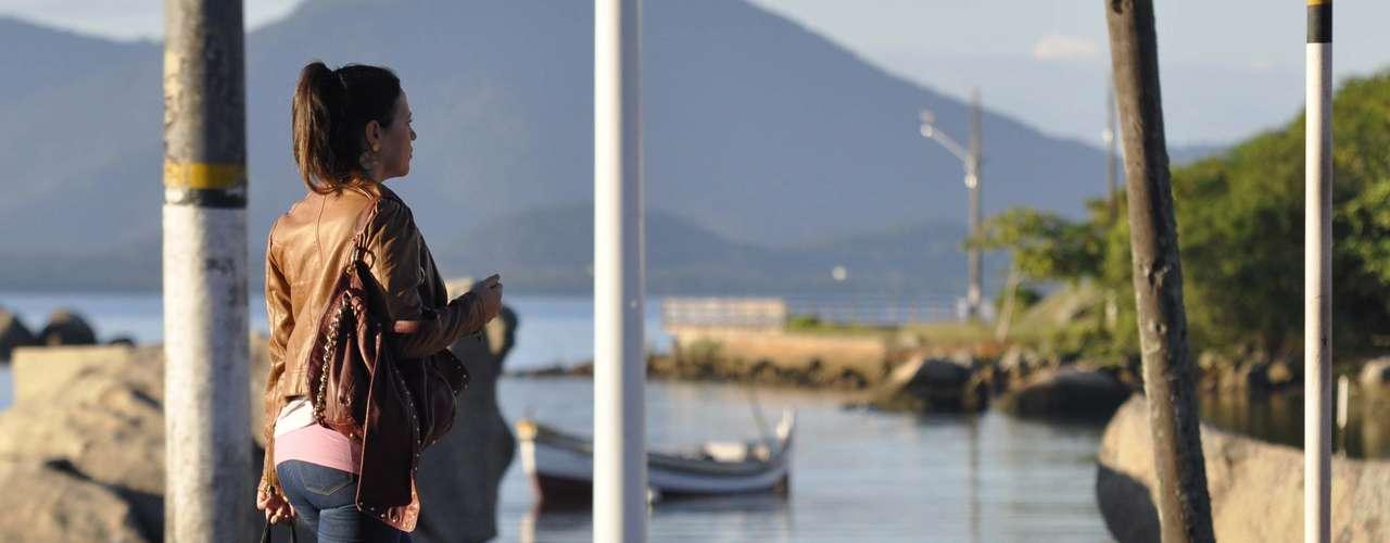 6 de maio - Massa de ar frio deixou as temperaturas baixas em Florianópolis nesta segunda-feira