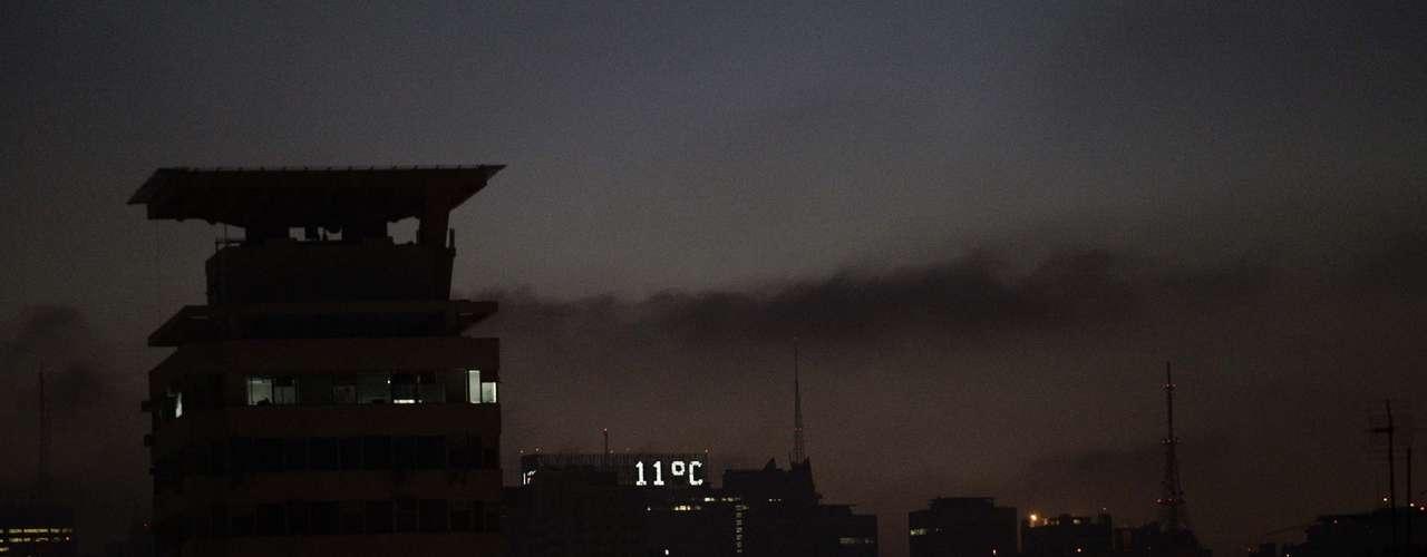7 de maioTermômetro marcou 11°C na capital paulista