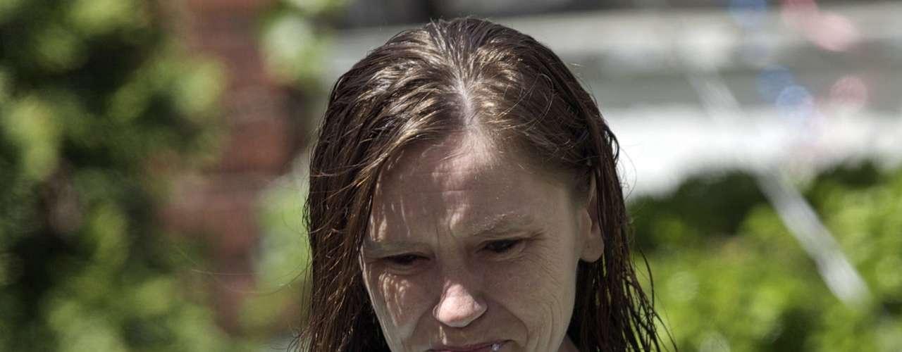 8 de maio -Airmãde Amanda Berrydefiniu como emocionante o reencontro dela com a família