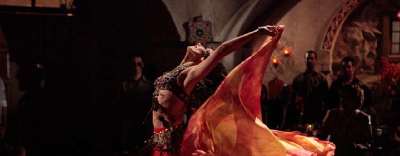 Ayla arrasa na dança turca