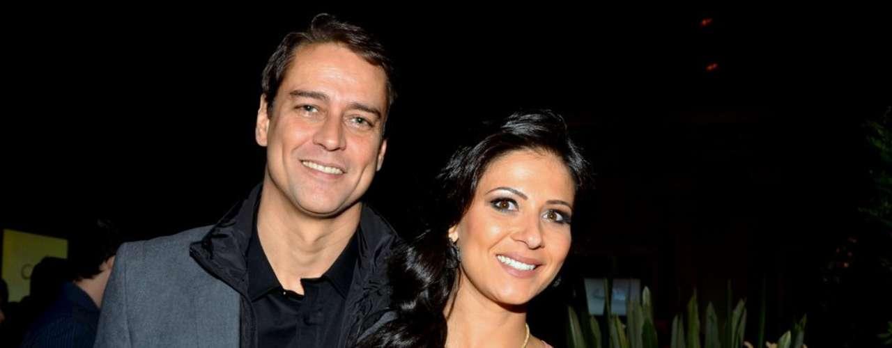 Marcelo Antony foi a um buffet, em São Paulo, para o lançamento oficial da nova trama das 21h, 'Amor à Vida'