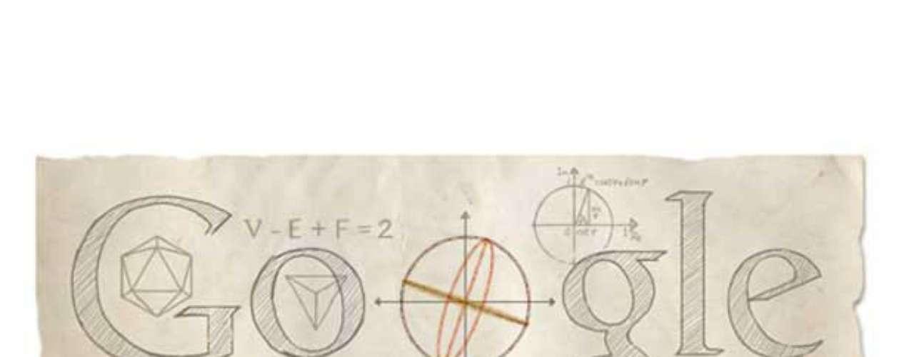15 de abril - 306º aniversário de Leonhard Euler, matemático e físico suíço (global)
