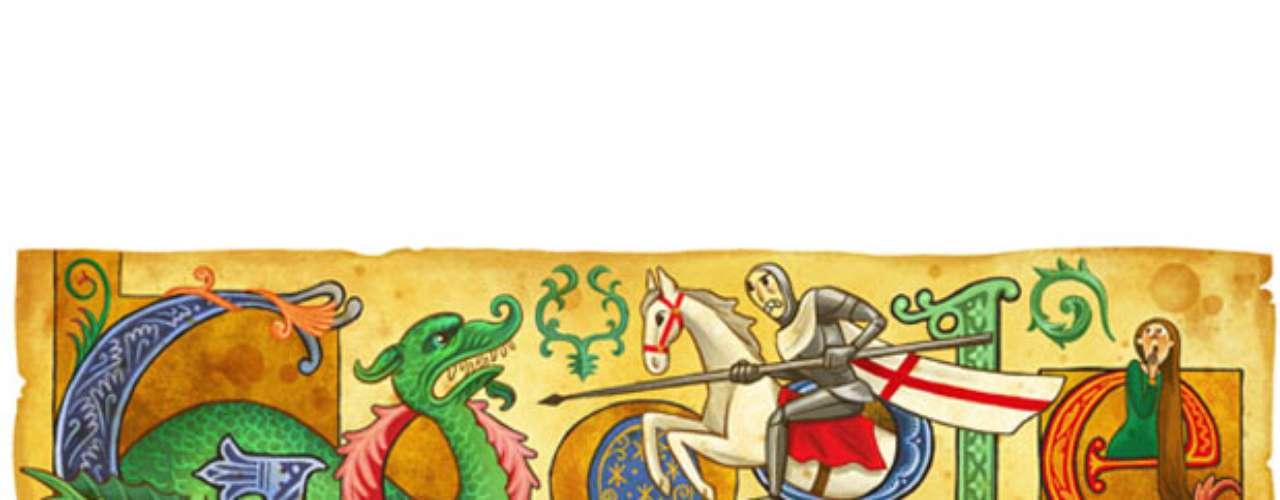 23 de abril - Dia de São Jorge (Reino Unido)