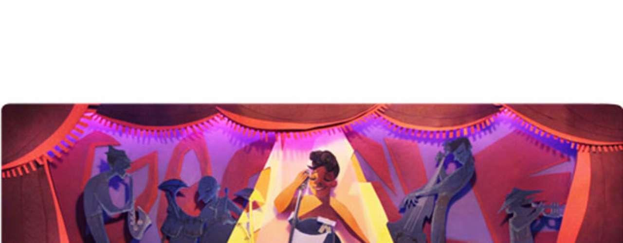 25 de abril - 96º aniversário de Ella Fitzgerald, cantora (global)