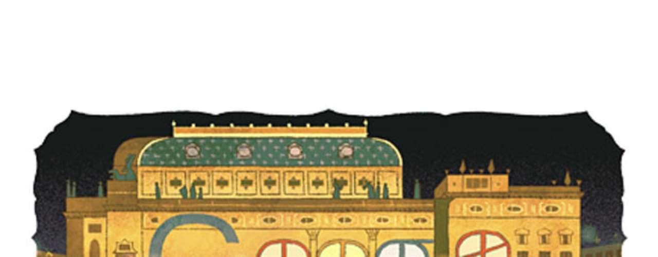 16 de maio - 145º aniversário do Teatro Nacional (República Checa)