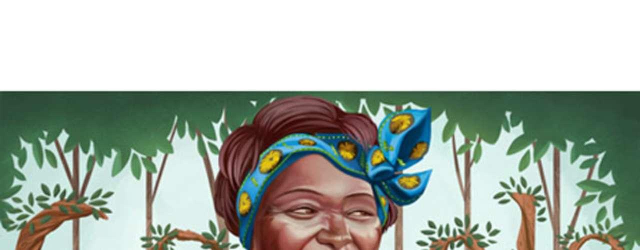 1º de abril - 73º aniversário de Wangari Maathai, professora e ativista política do meio-ambiente queniana (vários países)