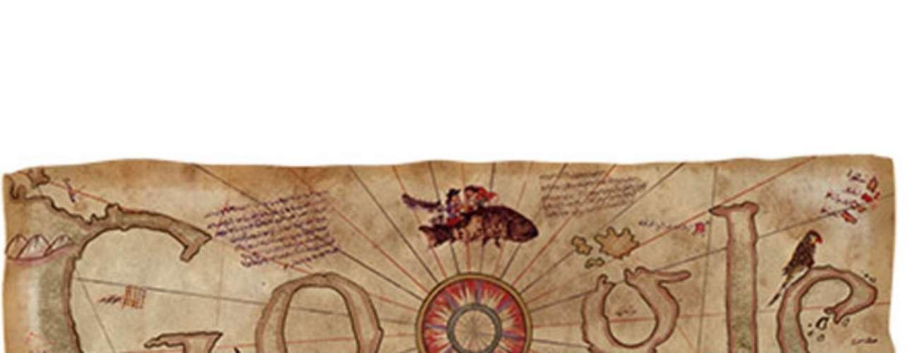 7 de abril - 500º aniversário do Mapa de Piri Reis (Chipre e Turquia)