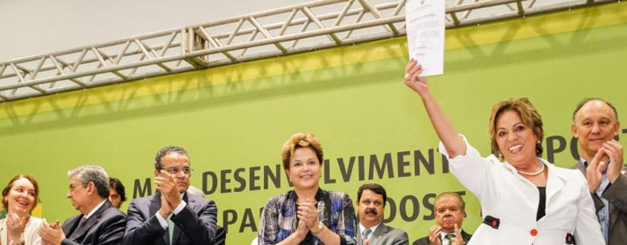 Ao fazer referência ao presidente da Central Única dos Trabalhadores (CUT), Dilma confundiu o Rio Grande do Norte com o Rio Grande do Sul nesta segunda-feira