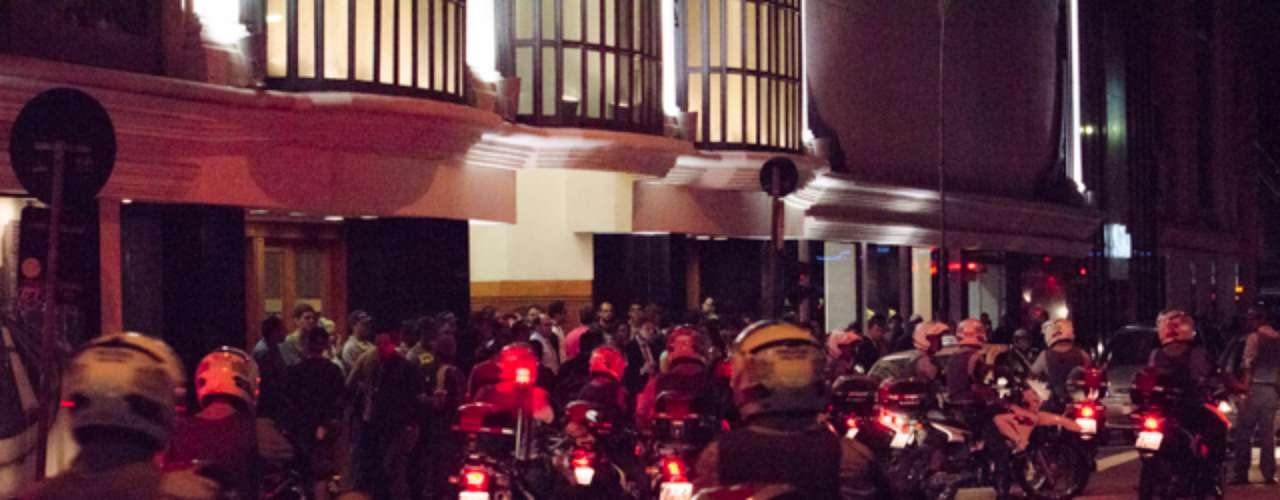 6 de junho -Ao todo 15 pessoas foram detidas por conta do protesto contra o aumento das tarifas de ônibus em São Paulo