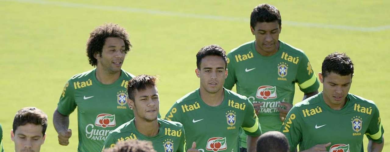 Depois da passagem por Brasília, a Seleção Brasileira encara a Itália no dia 19, no Castelão, em Fortaleza