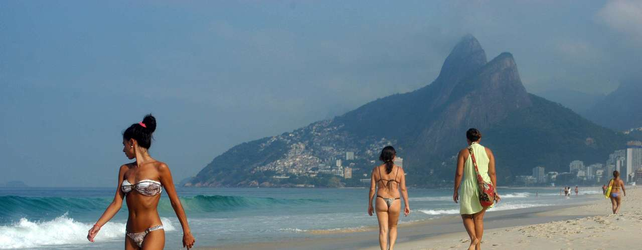 13 de junho Com umidade de 58%, a temperatura pode chegar aos 28ºC hoje no Rio de Janeiro