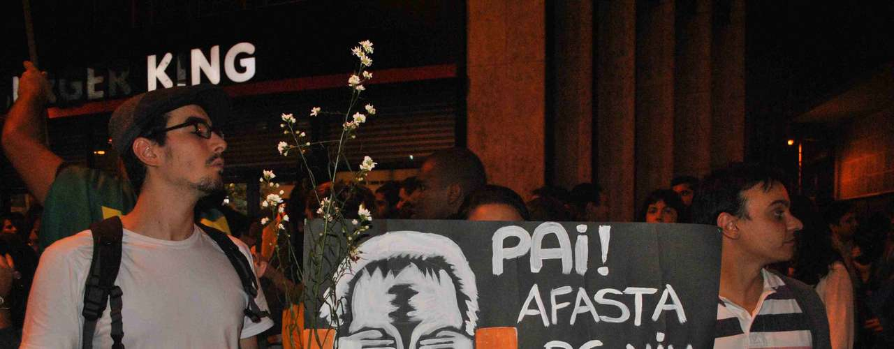 17 de junho Temas da época da ditadura militar foram usados no protesto no Rio de Janeiro