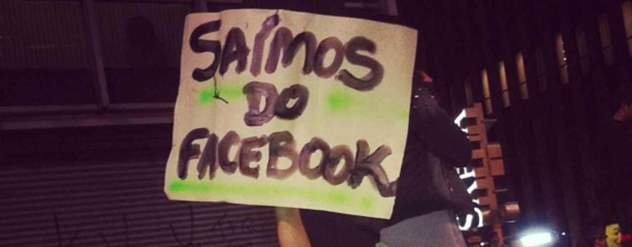 17 de junho - Manifestantes apontam que saíram das redes sociais para lutar por seus direitos: \