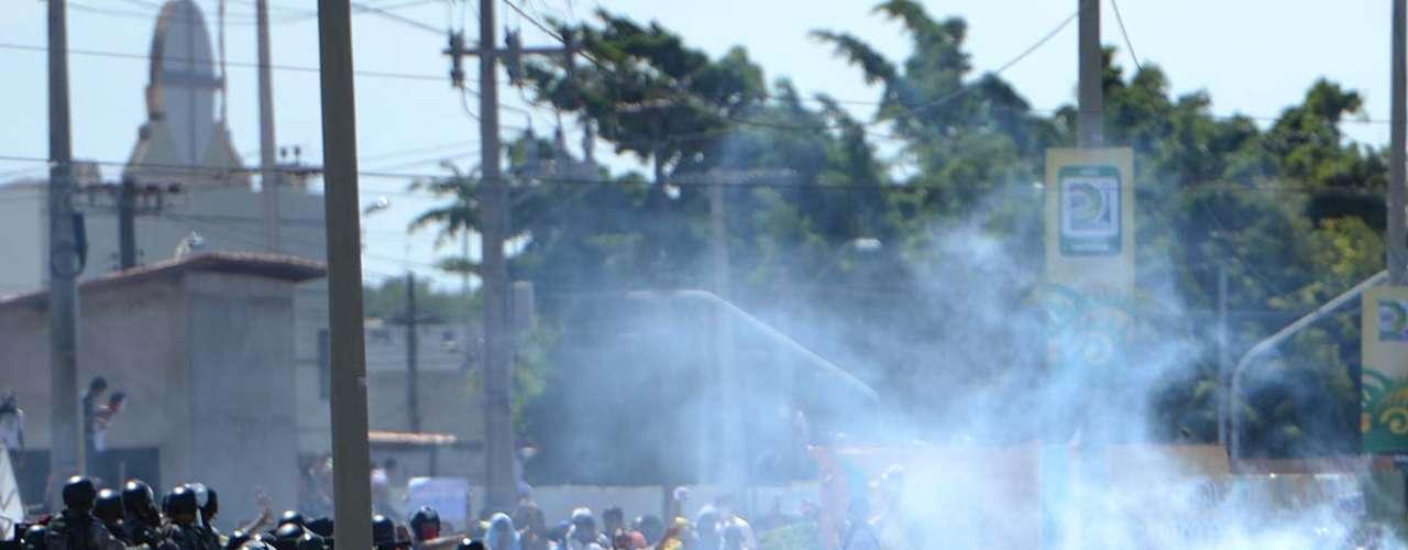 Após o confronto, o clima continuou tenso na região do Castelão