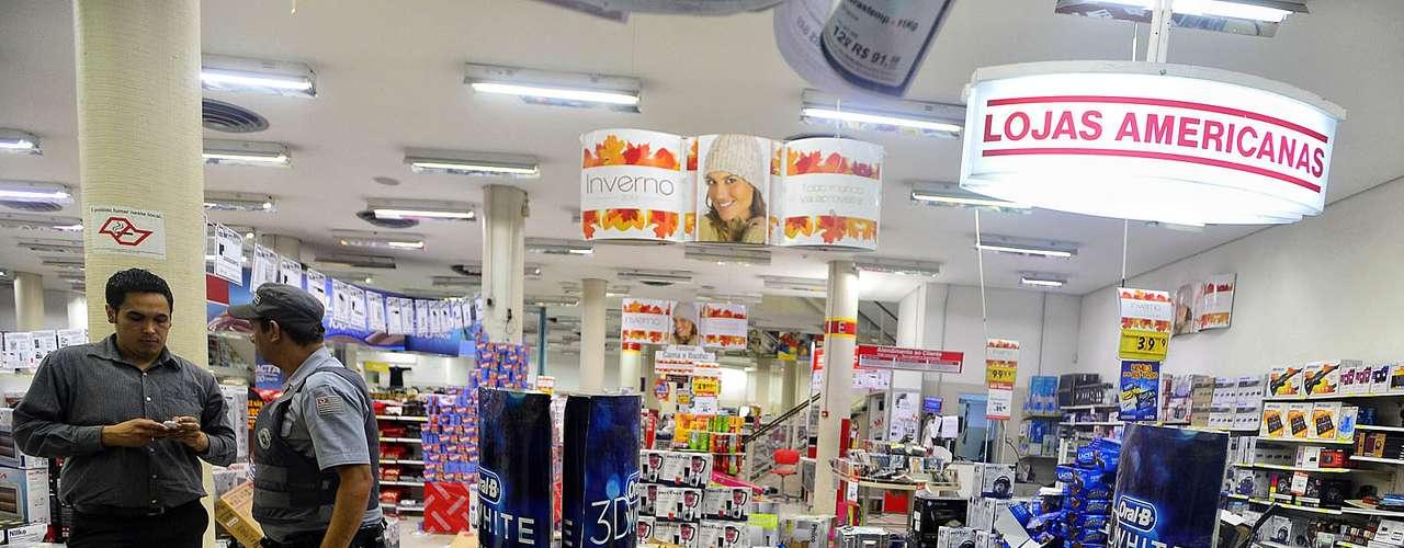 18 de junho -Lojas Americanas também foram alvo de vândalos em São Paulo