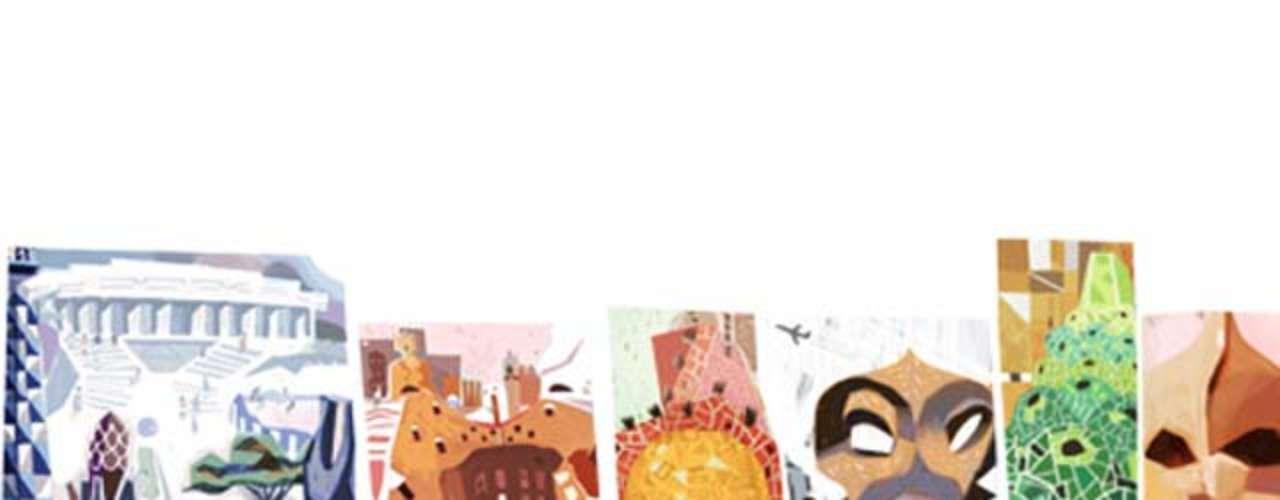 25 de junho - 161º aniversário de Antoni Gaudí, arquiteto catalão (global)