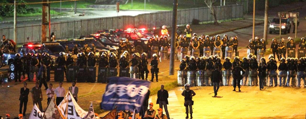 26 de junho - Em Recife, a concentração dos manifestantes começou por volta das 14h