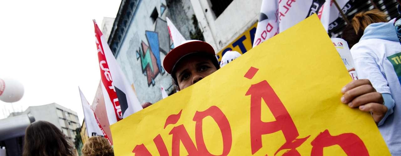 São Paulo Outro tema recorrente entre os manifestantes é a corrupção